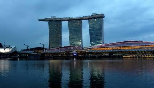 Piscina del hotel marina bay sands en singapur - Singapore hotel piscina ...
