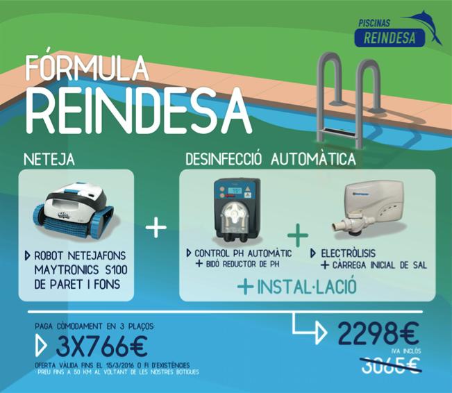 Fórmula Reindesa @ Electrólisis Salina