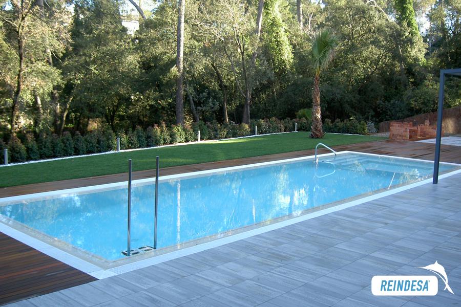 Reindesa piscinas privadas for Piscina valldoreix